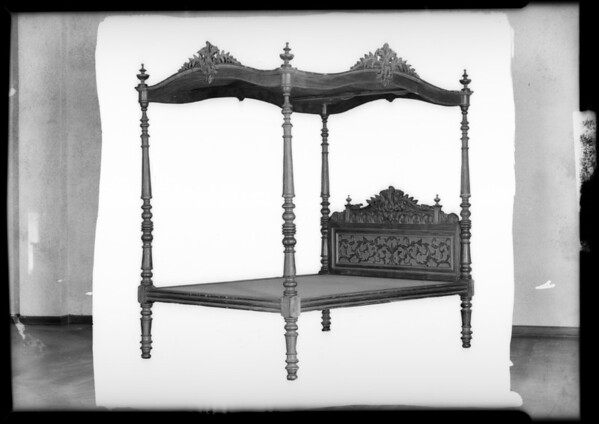 Furniture, Southern California, 1932
