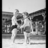 Kiddies in sun suits, Southern California, 1931