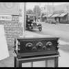 Fearless Simplex radio at 1769 North Highland Avenue, Los Angeles, CA, 1925