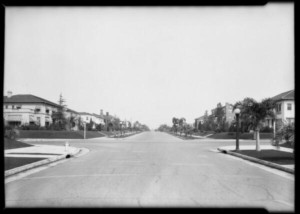 General scenes--vicinity West 6th Street & South Western Avenue, Los Angeles, CA, 1926
