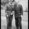 German flyer Ernst Udet, Italian flyer, Southern California, 1933