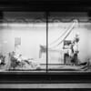 Fashion window display, Southern California, 1925