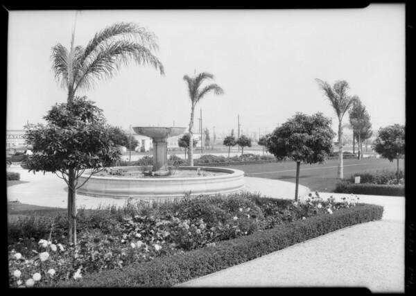 Plaza Views, Southern California, 1929