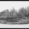 Progress of house in Glendale, CA, 1933