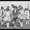 Fashion show models, Los Angeles, CA, 1926