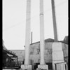 Smokestacks at Southern California Iron and Steel, Huntington Park, CA, 1926