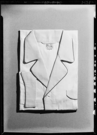 Pajamas, Southern California, 1934