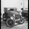 Ford sedan, Christian F. Steinle, Southern California, 1933
