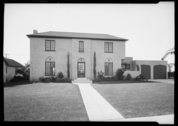 House, 515 Bedford Dr., Beverly Hills, CA, 1926