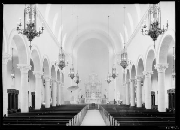 Santa Monica Church, Santa Monica, CA, 1926