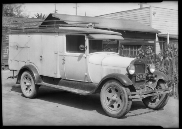 Ford truck, Southern California, 1931