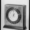 Radio clock, Southern California, 1934