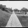 Residence driveway, 150 Westmont Drive, Alhambra, CA, 1932