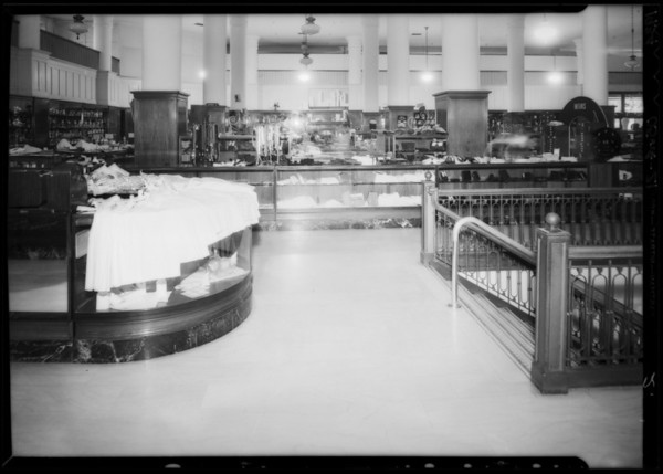 Mrs. W.C. Branch vs. May Co., 830 South Hill Street, Los Angeles, CA, 1934