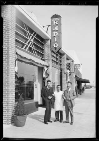 New stores publicity, Southern California, 1929