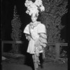 Courier - Bowl in costume, Southern California, 1934