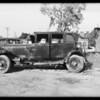 Cartercar hit, Southern California, 1932