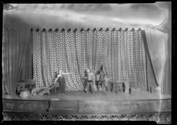 """Mona Vana"" at Trinity Auditorium, 855 South Grand Avenue, Los Angeles, CA, 1928"
