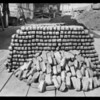 Coke & briquettes at Fernholtz Machine Co., 2053 East 38th Street, Vernon, CA, 1926