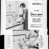 Spra-Way dish washer, Southern California, 1932