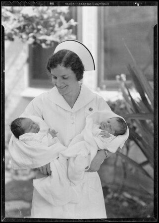 Additional scenes around hospital, Altadena, CA, 1933