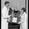 Billie Barnes & Stewart Warner radio, Southern California, 1927