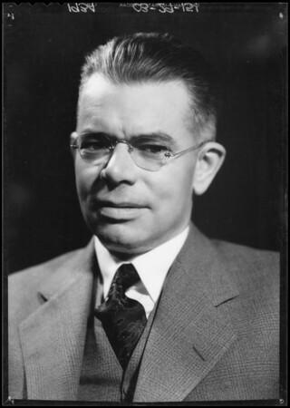 M. W.P. Gibbons, Southern California, 1934