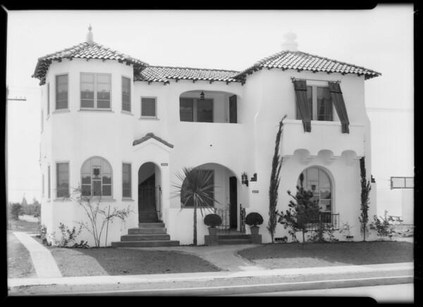 Houses on 43rd Place, Leimert Park, Los Angeles, CA, 1928
