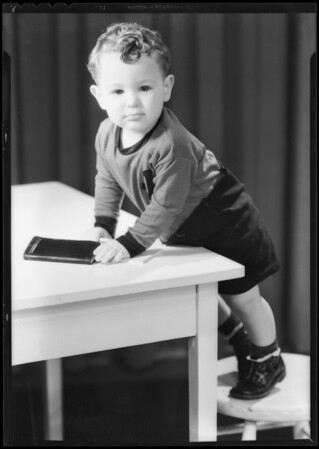 Baby Billy Kailey Jr., Southern California, 1932