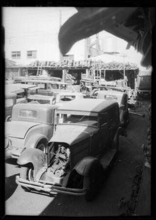 Nash sedan, P. D. Knettles, owner, Southern California, 1934