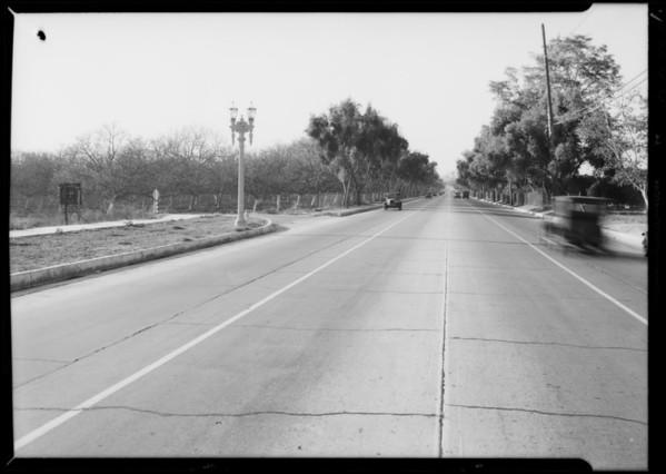 M.L. Scott vs. E.P. Rogers, Intersection at Whittier Boulevard & Hadley Street, Whittier, CA, 1933