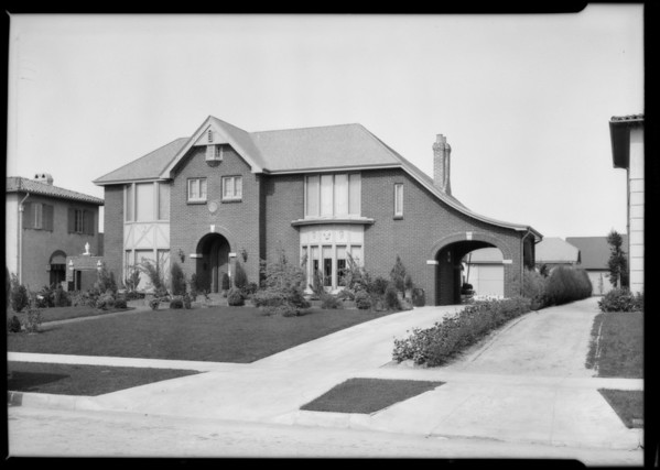 Homes in Hollywood, Los Angeles, CA, 1926