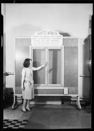 """Shifto"" window, Southern California, 1931"