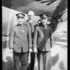 Japanese officers at airport, Southern California, 1928