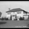 Newton home, Meadow Grove Street, La Cañada Flintridge, CA, 1925