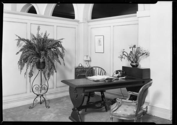 Elizabeth Arden section, Southern California, 1928