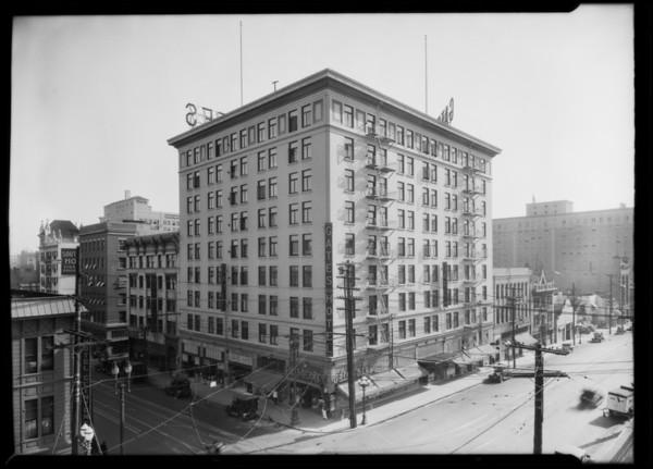 Gates Hotel, Southern California, 1926