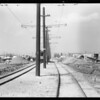 Intersection of South Broadway and West 111th Street, Los Angeles, CA, 1932