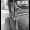 Ford Tudor sedan, H. M. Covey, assured, Southern California, 1932