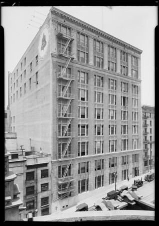 Telephone building, West 5th Street & South Olive Street, Los Angeles, CA, 1925