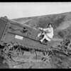 Billie Barnes at Castellammare, Santa Monica, CA, 1926