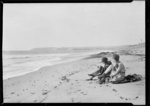 Capistrano Beach development, Dana Point, CA, 1928