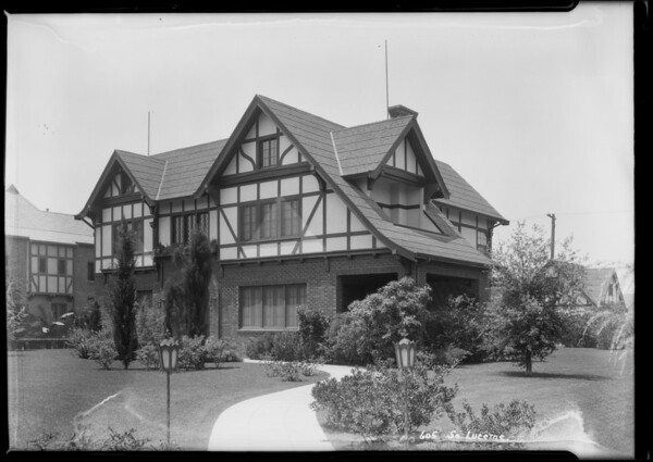 Home at 605 South Lucerne Boulevard, Los Angeles, CA, 1925