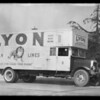 Lyon Storage Co. truck, Southern California, 1932