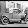 1929 Ford coupe, license #7R4239, 10963 San Fernando Road, Pacoima, Los Angeles, CA, 1933