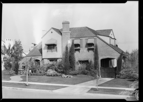 Kathleen Clifford home, 614 North Palm Drive, Beverly Hills, CA, 1928