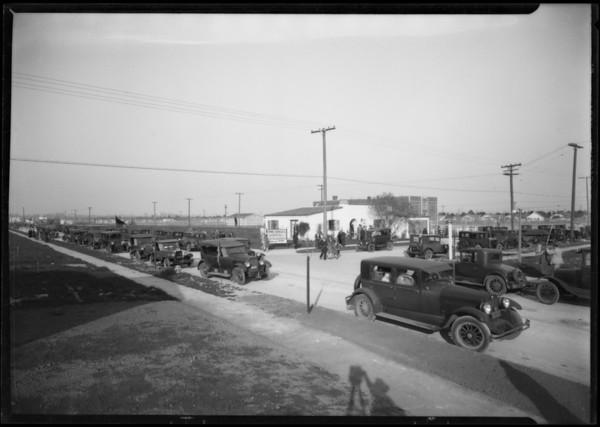 Crowd at Leimert Park, Los Angeles, CA, 1928