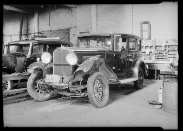 Hupmobile, Mr. Olden, owner, Southern California, 1932