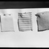 Material samples, Southern California, 1934
