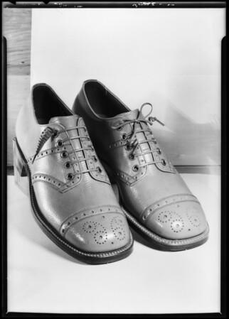 Men's shoes, Southern California, 1925